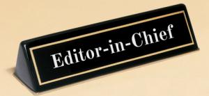 Работа главный редактор - что делает