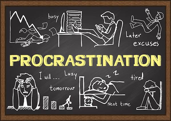academic writing procrastination