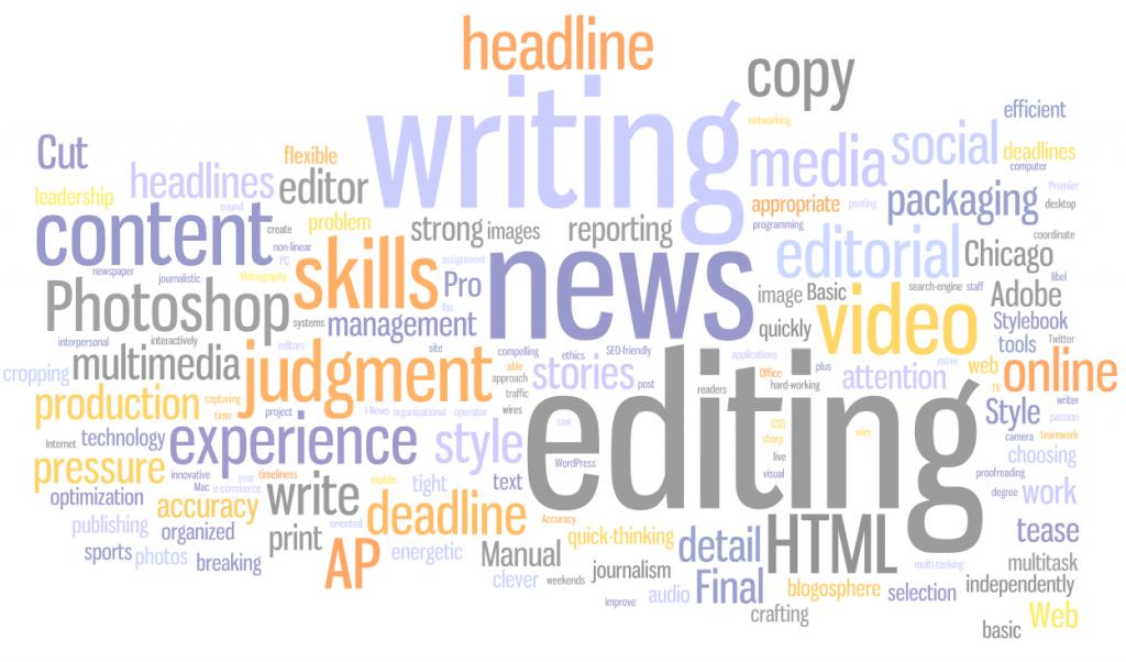 карьера редактора