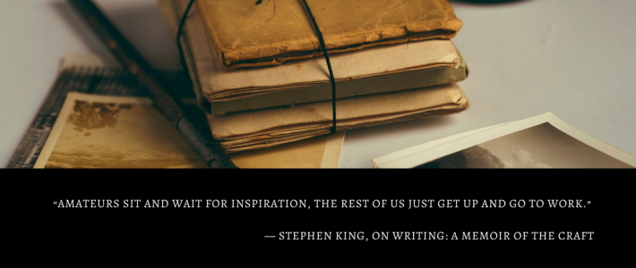 5 Ways to Find Writing Inspiration and to Finish Your Work