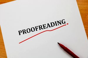 top 12 proofreading tricks