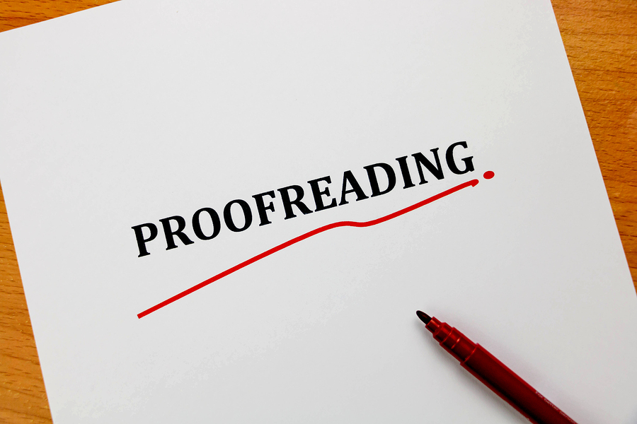 outsourcing proofreader